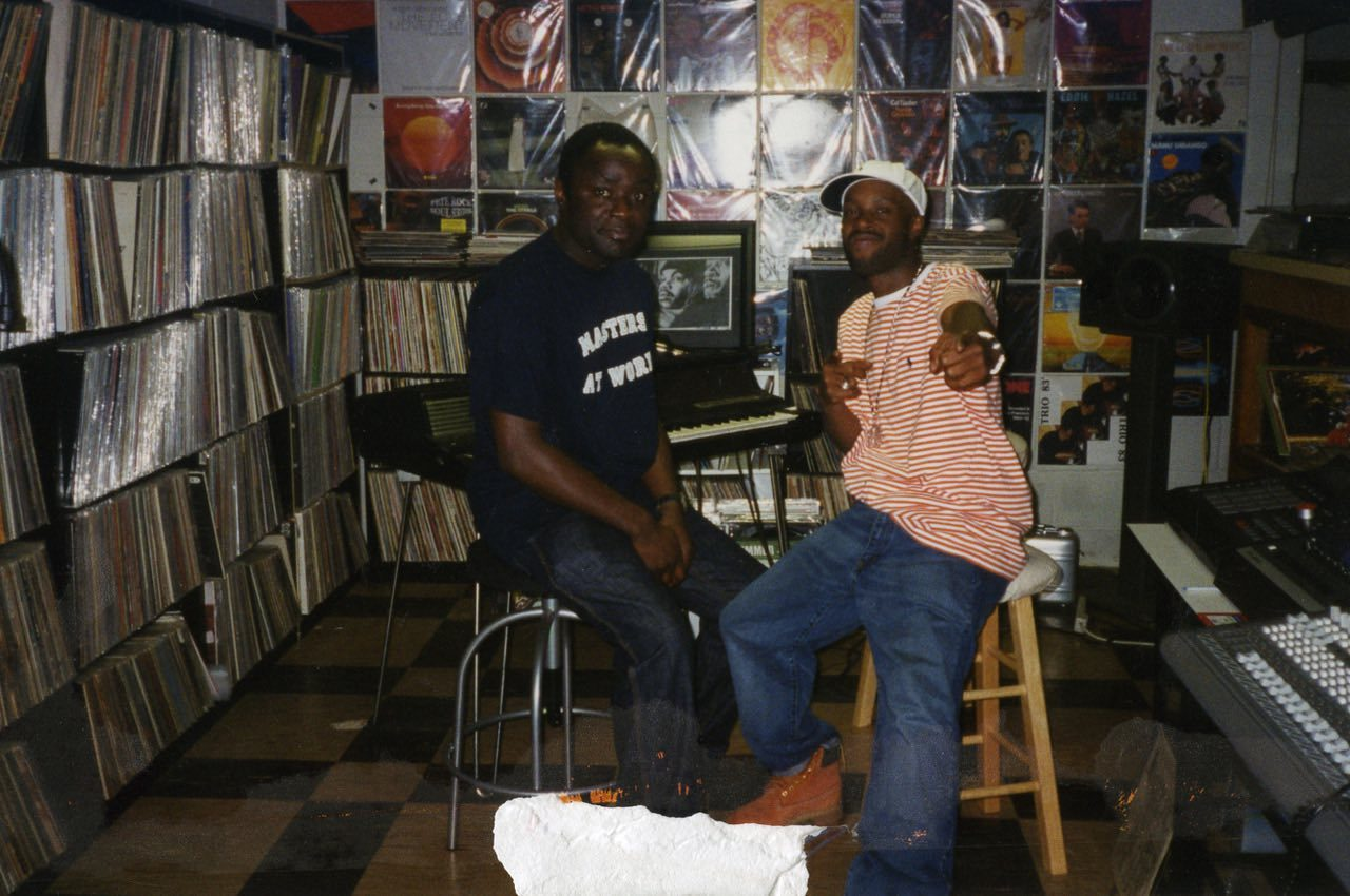 peter adarkwah and J Dilla sitting