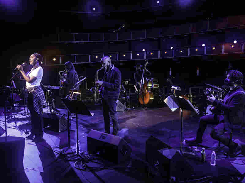 The Jazz Gallery All-Stars performs live at the Kennedy Center.
