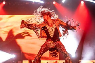 Rob Zombie performs at Inkcarceration Music and Tattoo Festival on Sunday, Sept. 12, 2021, at Ohio State Reformatory in Mansfield, Ohio. (Photo by Amy Harris)